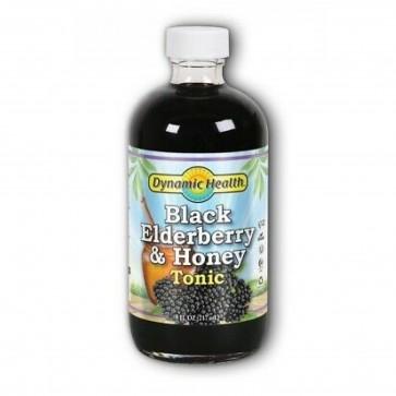 Dynamic Health Black Elderberry & Honey Tonic 8 fl oz
