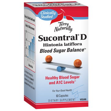 Terry Naturally Sucontral D 120 Capsules