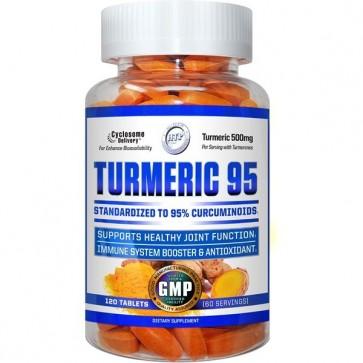 Turmeric 95 120 Tablets by Hi-Tech