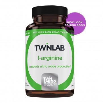 Twinlab L-Arginine 500 mg 100 Capsules