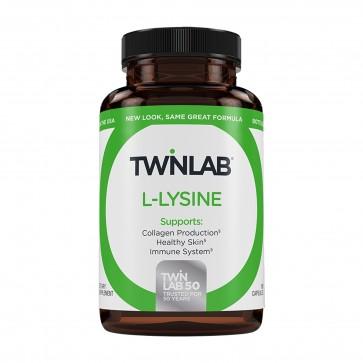 TwinLab L-Lysine 100 Vegetarian Capsules