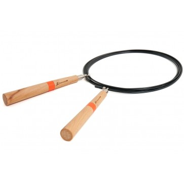 ProsourceFit Wooden Speed Jump Rope