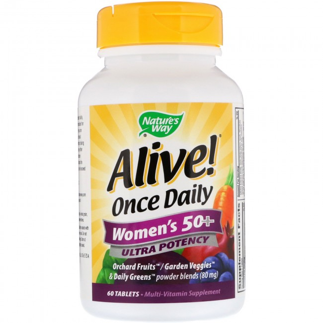 alive way nature once daily tablets vitamin natures multi walmart iherb tabs