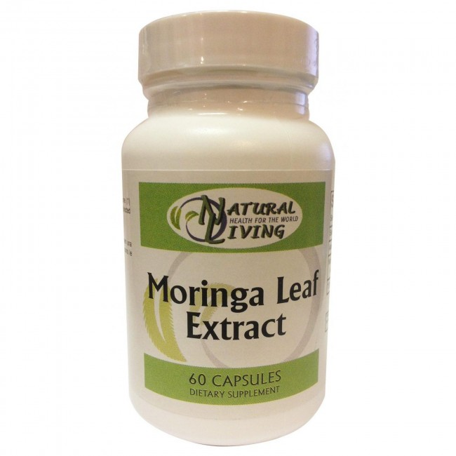 Natural Living Moringa Leaf Extract 60 Capsules