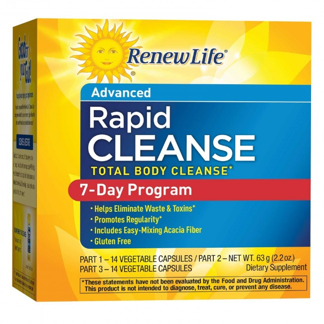 Renew Life Advanced Rapid Cleanse 7 Day Program