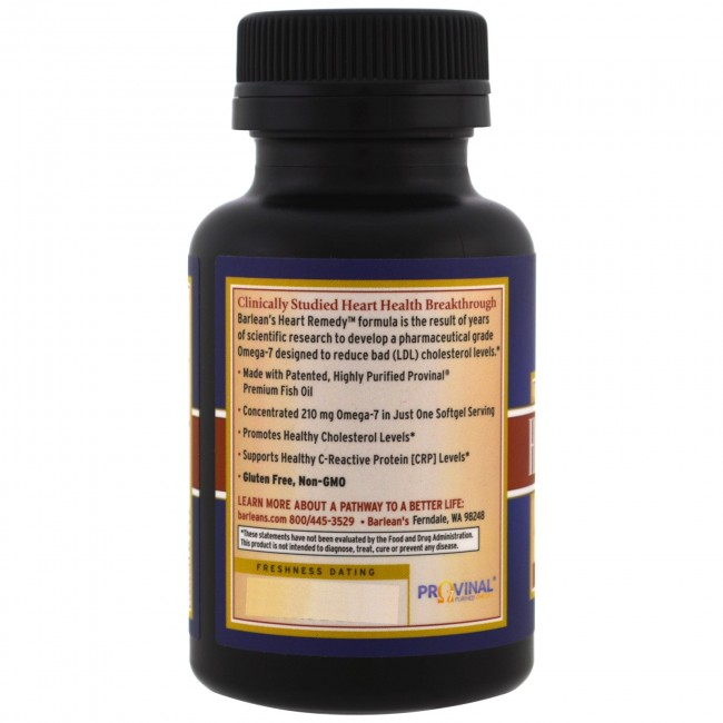 Heart Remedy 30 Softgels By Barlean S