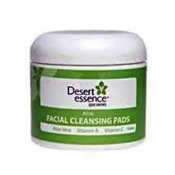Desert essence aloe facial cleansing pads