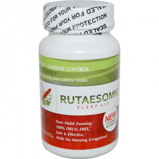 Linnet Biopharmaceuticals- Rutaesomn Sleep Aid 100 mg- 30 Capsules