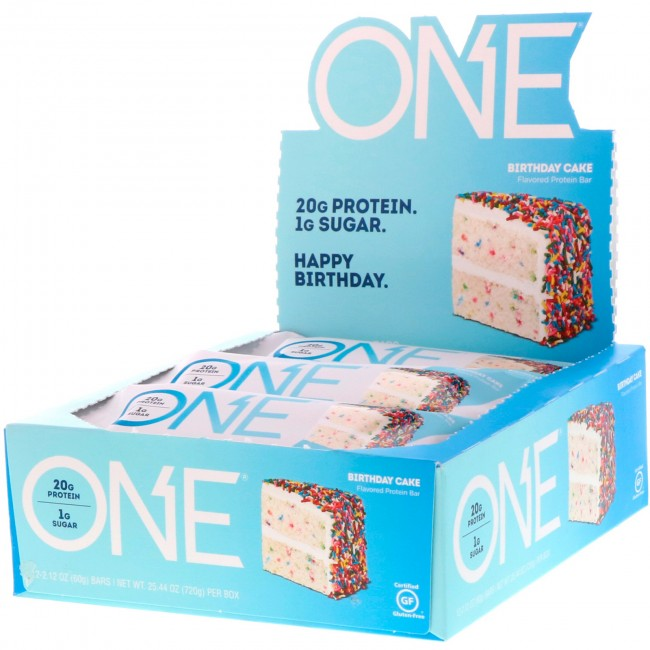 OhYeah One Birthday Cake 12Bars