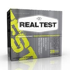 Real Test Androgenic Testosterone Booster 28 Capsules By