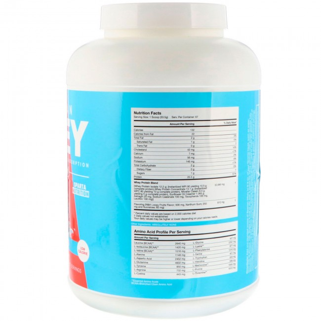 Spartan Whey Loopy Fruits 5 Lbs