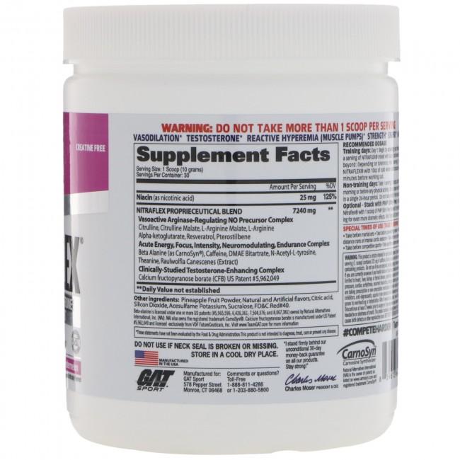 Nitraflex Watermelon 300 Grams By GAT