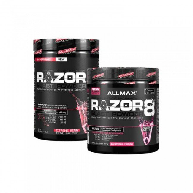 RAZOR8 BLAST POWDER Highly Concentrated Pre-Workout …