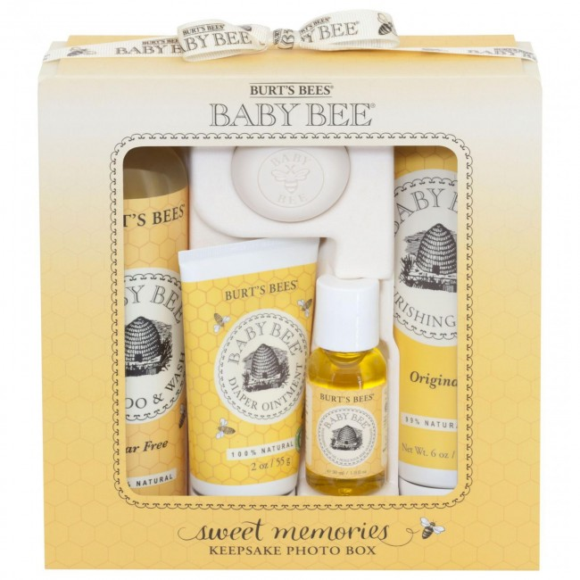 Burt S Bees Baby Bee Sweet Memories Gift Set With Keepsake