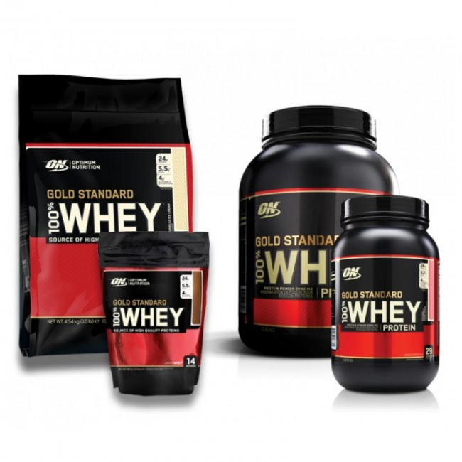 Optimum Nutrition Gold Standard 100% Whey Protein