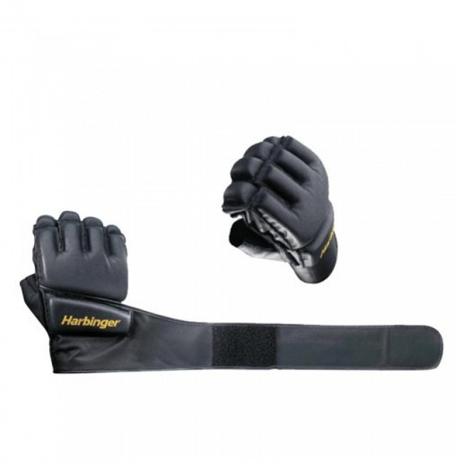 Harbinger Womens Wristwrap Gloves: Wristwrap Bag Gloves Small By Harbinger
