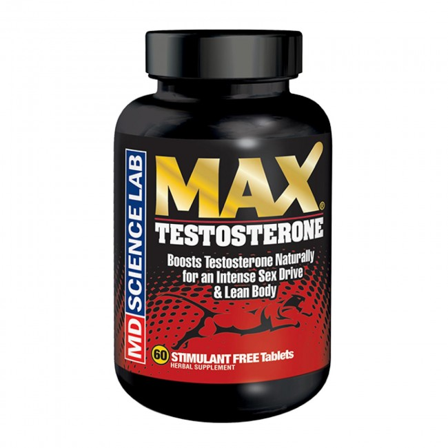 Max Testosterone Stimulant-Free by MD Science Lab