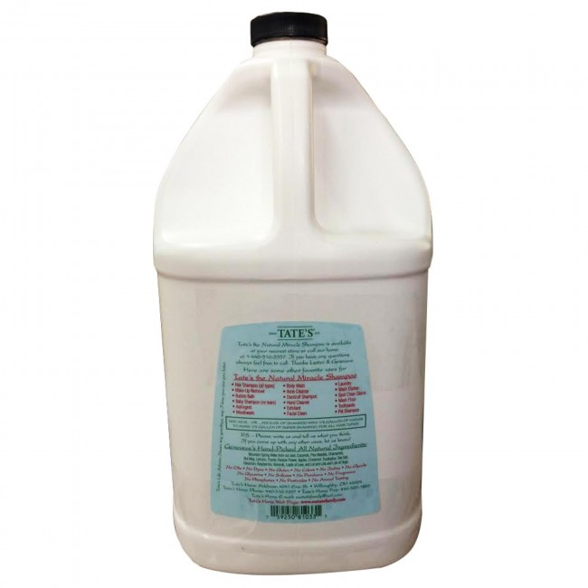 The Natural Miracle Shampoo 1 Gallon By Tate S