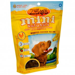 Zuke's Healthy Moist Miniature Dog Treats Roasted Chicken 6 oz