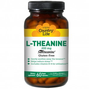 L-Theanine Suntheanine Amino Acid - 60 Vegetarian Capsules