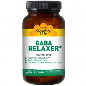 Country Life GABA Relaxer 90 Tablets