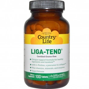 Country Life Liga-Tend 100 Tablets