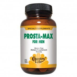 Country Life Gluten Free Prosta-Max for Men 50 Tablets