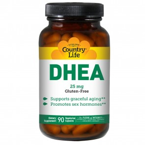 Biochem by Country Life- DHEA 25mg, 30 Capsules