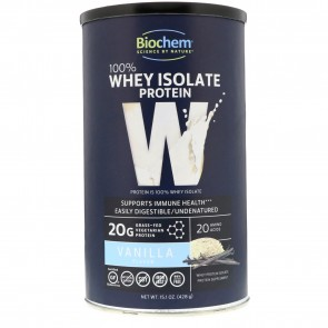 Biochem Sports by Country Life - 100% Whey Protein Powder Vanilla - 14.9 oz.