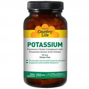 Country Life Potassium 99mg 250 Tablets