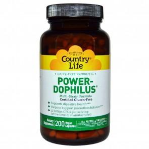 Country Life Power-Dophilus 200 Vegan Caps