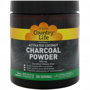 Country Life Activated Charcoal Powder 5oz