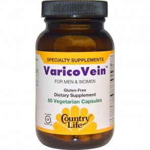 Country Life VaricoVein For Men and Women 60 vcaps