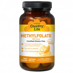 Methylfolate Fast Acting Smooth Melt Orange 800 mcg. - 60 Tablet(s)