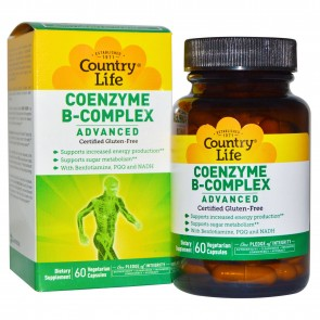 Countrylife Coenzyme B-Complex Advanced - 60 Vegetarian Capsules