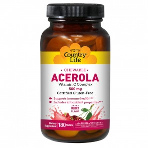 Chewable Acerola Vitamin C Berry 180 Wafers