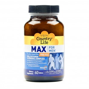 Country Life MAX for Men 60 Tablets