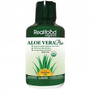 Countrylife Real Food Organics Liquid Aloe Vera Plus 32 oz