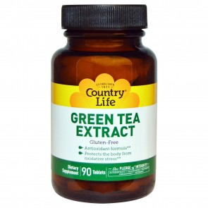 Countrylife Green Tea Extract 90 Tablets