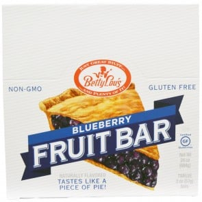 Betty Lou's - Fruit Bars Gluten Free Blueberry - 2 oz. box of 12