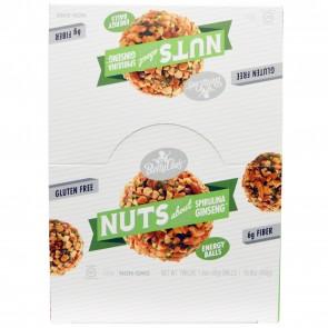 Betty Lou's Nuts About Spirulina Ginseng Energy Balls 1.4 oz. 12 Per Box