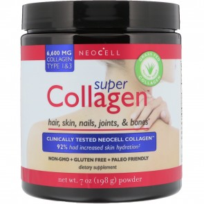 Neocell Super Collagen 6,600mg 7 oz (198 Grams)