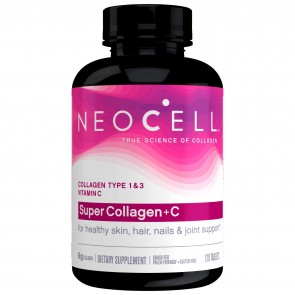 Neocell Super Collagen+C 6,000mg 120 Tablets