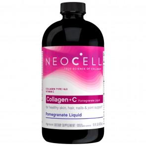 Neocell Collagen +C Pomegranate Liquid 16 fl oz
