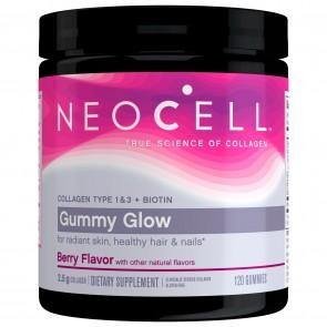 NeoCell Gummy Glow Collagen + Biotin 120 Gummies