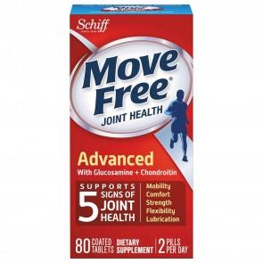 Schiff Move Free Advanced Tripple Strength 80 Capsules