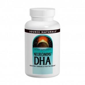 Source Naturals-Neuromins DHA 100mg 120 Vegetarian Softgels