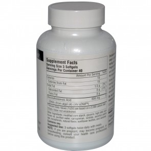 Source Naturals Neuromins DHA 200 mg 120 Softgels