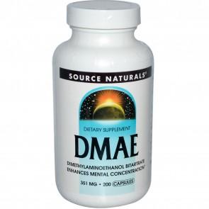 Source Naturals DMAE 351 mg 200 Capsules