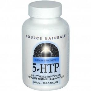Source Naturals 5-HTP 50mg 120 Capsules